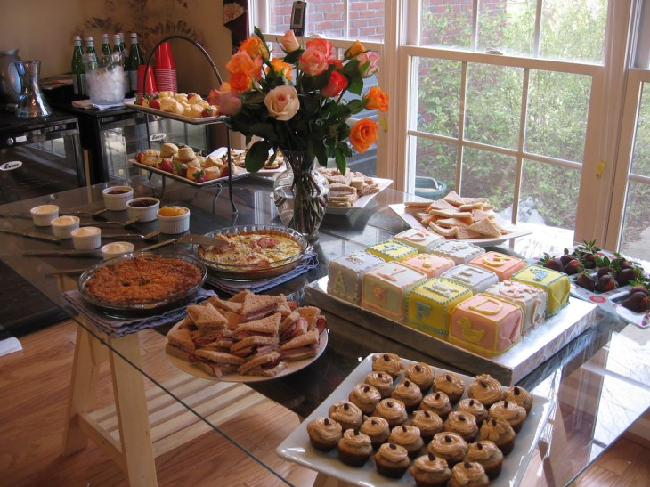 ... Baby Shower Food Table & Desserts | by cityflickr