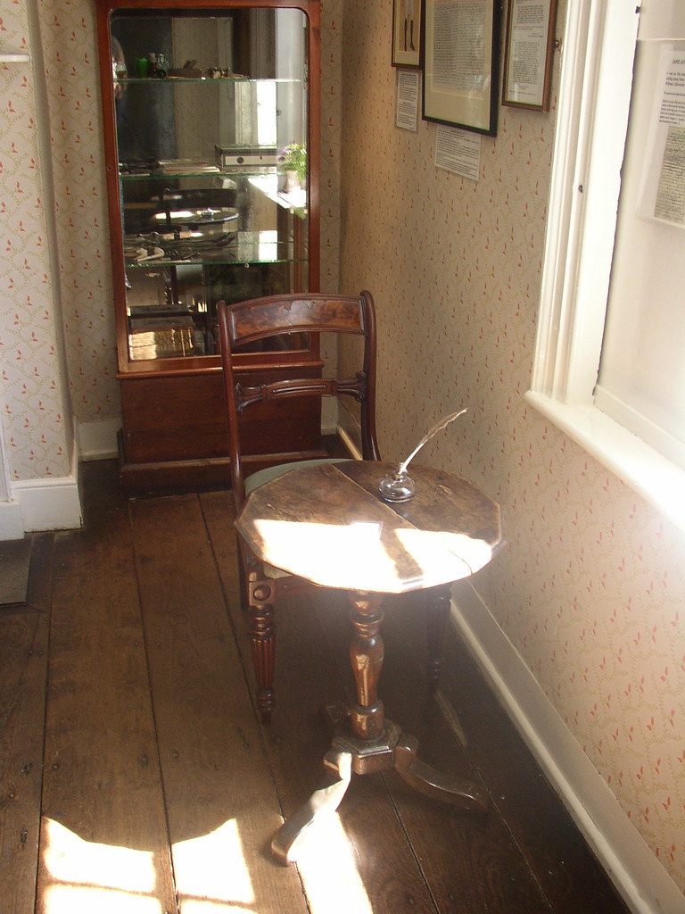 jane austens writing desk  Flickr  Photo Sharing