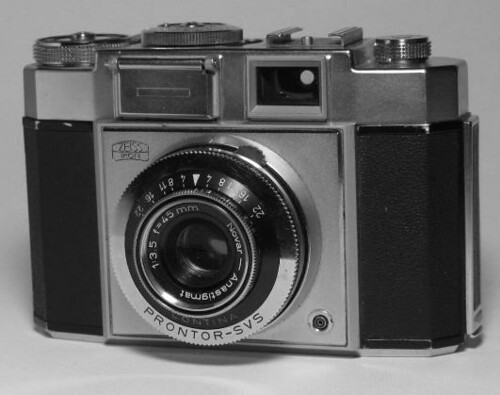 Zeiss Ikon Contina by gnawledge wurker