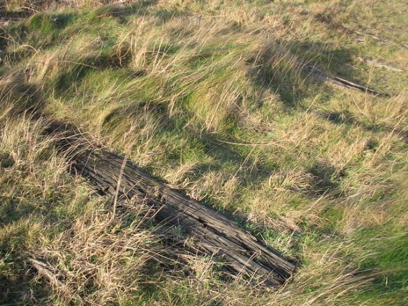South Gare, Railway Sleepers
