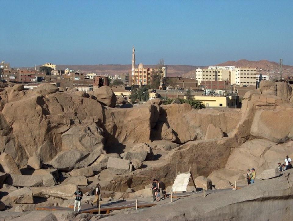 Obelisco inacabado de Asuan Aswan Egipto