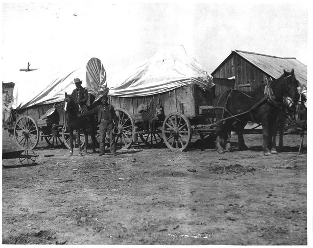 Resupply Wagon Train The monthly supply train that was