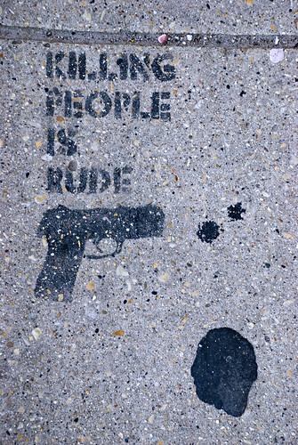 Killing People Is Rude
