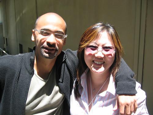 Me and Junot Diaz