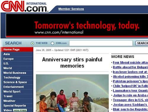CNN's 'anniversary'