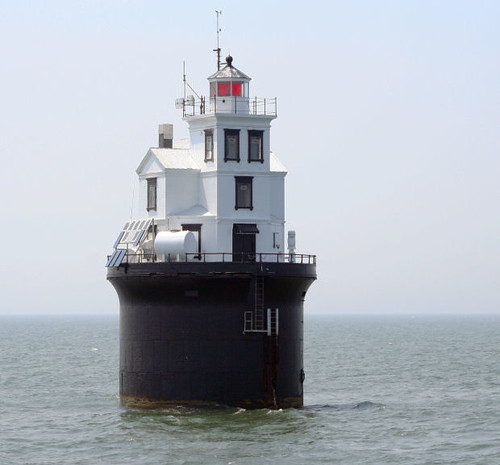 Fourteen Foot Bank Lighthouse In The Delaware Bay Flickr