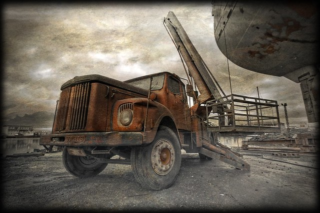 Old Scania ...