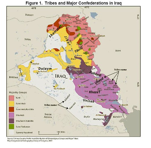 Iraq_Tribes_Map