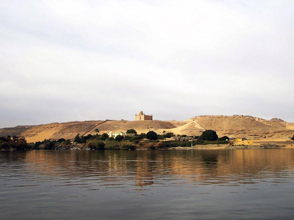 Mausoleo de Aga Khan Asuan Aswan Egipto