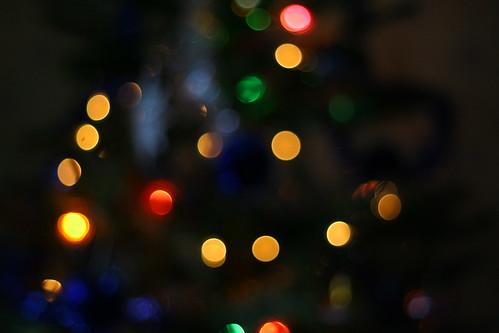christmas tree defocus