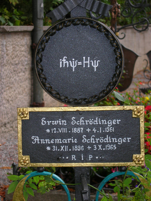 Schrodinger S Grave Alpbach Flickr Photo Sharing