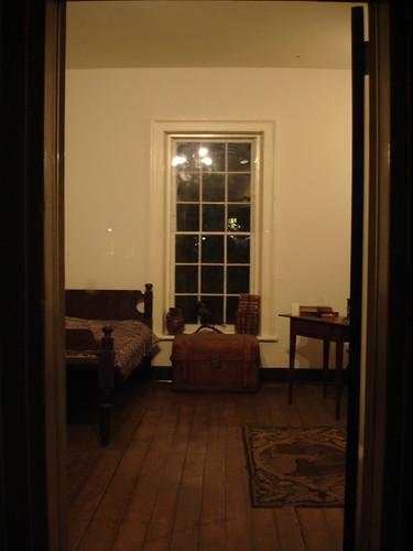Edgar Allen Poe's Dorm Room at UVA