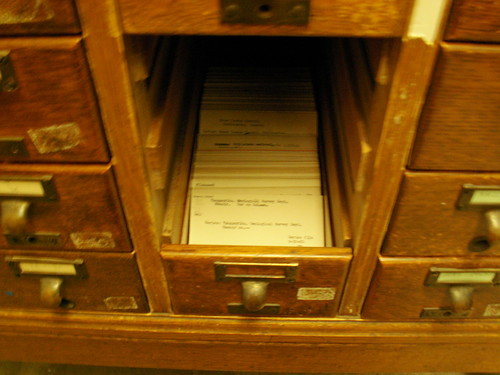 Inside the Card Catalog