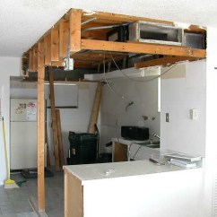 Mobile Home Kitchen Remodel Single Basin Sink - Before Drop Ceiling Removed.jpg   Explore ...