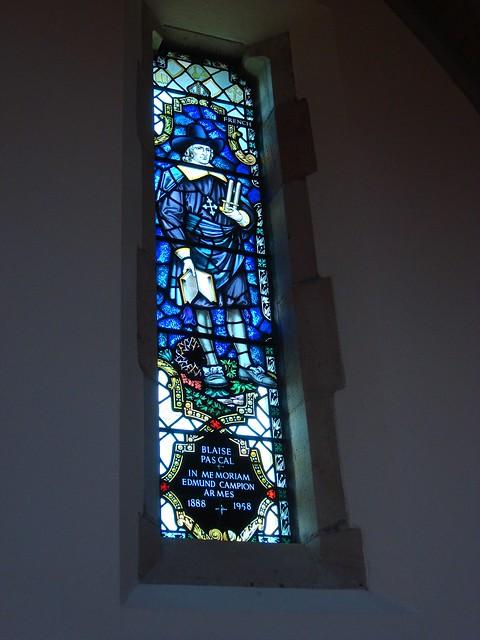 Blaise Pascal, All Saints Chapel, Sewanee TN