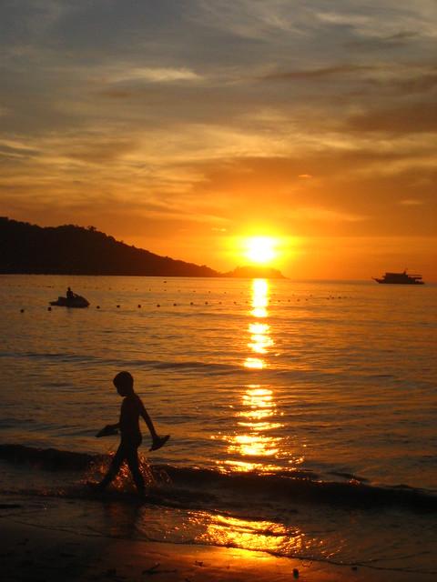 patong beach @ sunset