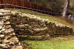 The eastern 'wing wall' of Milecastle 48