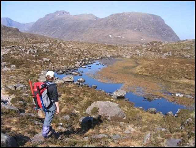 Coire Dubh Mhor path