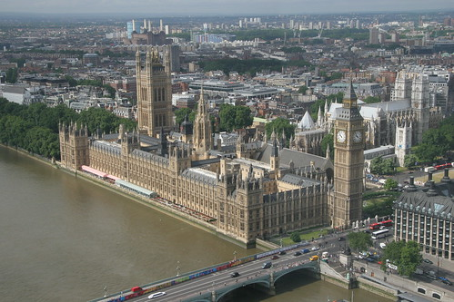 Palace of Westminster by webmink