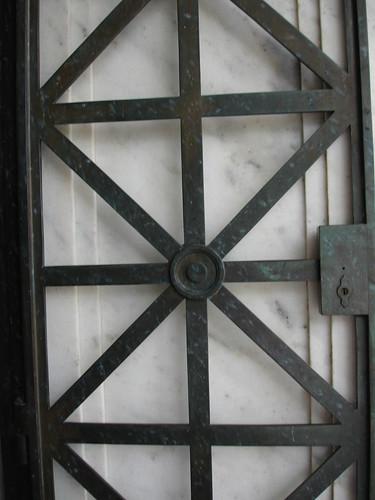 Metalwork Doors at Illinois Monument, Vickburg