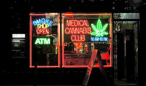 Medical Cannabis Club by Thomas Hawk