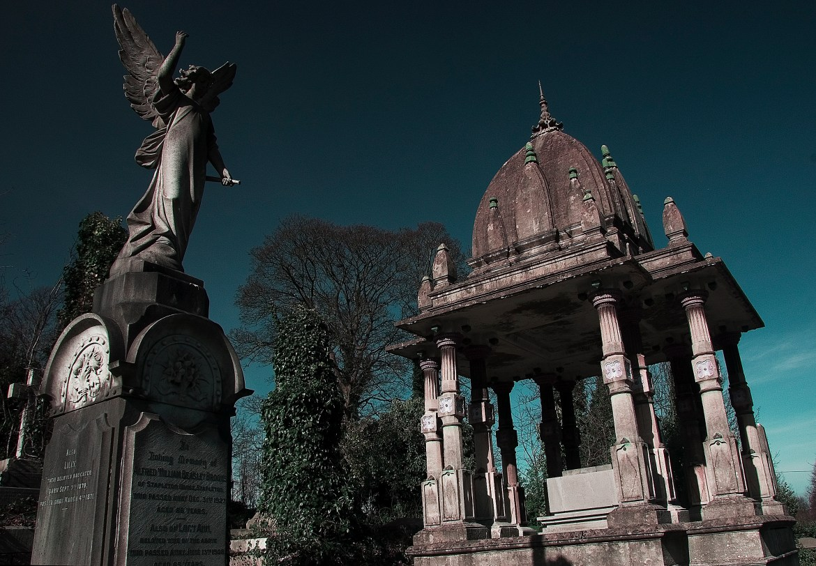 The tomb of Ram Mohan Roy