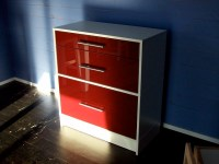Red file cabinet | Flickr - Photo Sharing!