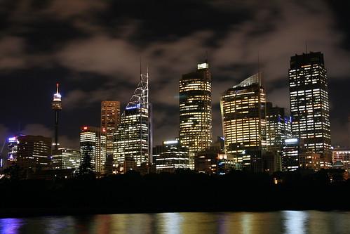 Sydney de noche