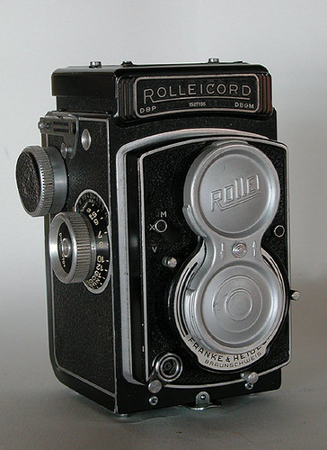 "Rolleicord V ""buttoned up"""