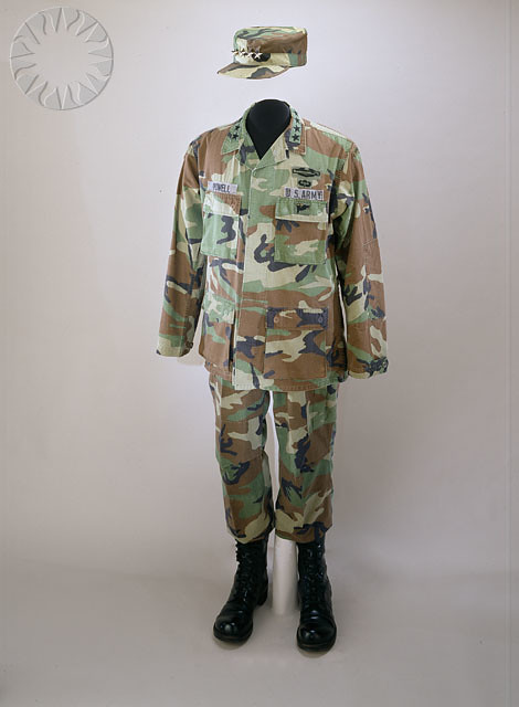 Colin Powells Battle Dress Uniform  SI Neg 200450562