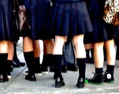 Kyoto - Schoolgirls
