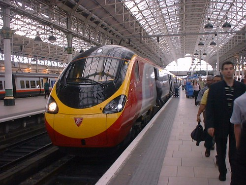 Photo of a Virgin Trains Pendolino - you'll need rail tickets to travel on one