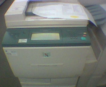 Is this a facility for making copies of a document or a photocopier?
