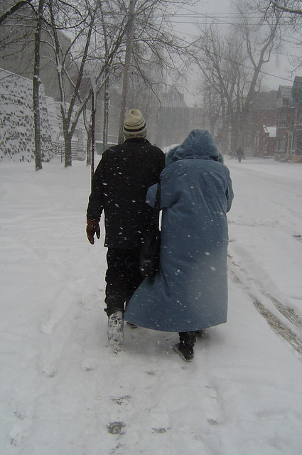 Old Couple Walking Flickr Photo Sharing