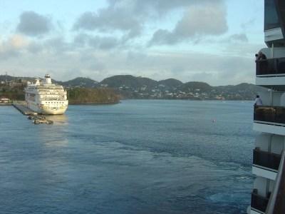 cruise ship grenada caribbean