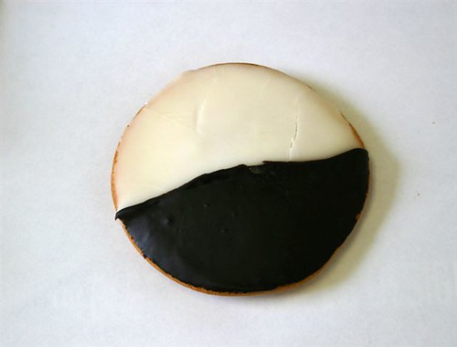 Black and White cookie