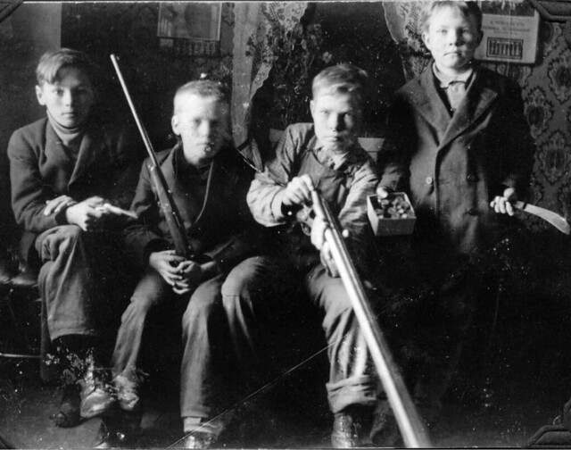 1911 ca. Gilbert, Adolph, John & Helmer
