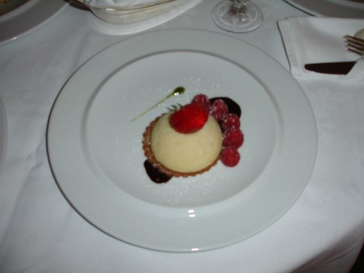 Cheesecake from Capitol Grille at The Hermitage Hotel, Nashville TN