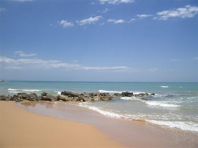 Spiaggia Dogana Marina di Ragusa Sicilia Sicily  Flickr