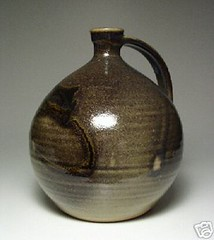 Jeff Scholes. Bottle-shaped jug