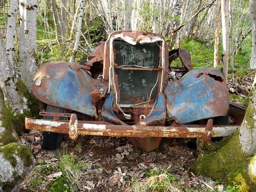 Bilvrak -|- Spotted wreck, from pre Second World War [Explored]