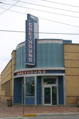 Greyhound Station, Clarksdale MS