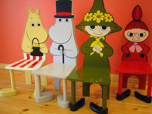Moomin Chairs  Explore hfbs photos on Flickr hfb has