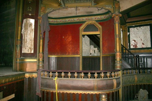 Inside Grand Opera House (Under Renovation), Meridian MS