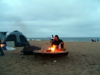 Dockweiler Beach - Fire Pit | Flickr - Photo Sharing!