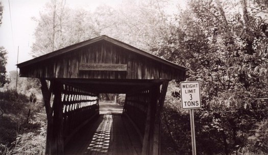 Easley Covered Bridge Entry, Blount County AL