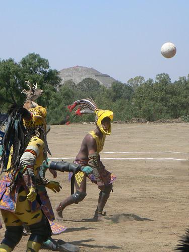 Juego de Pelota Teotihuacan  Un juego tradicional en la