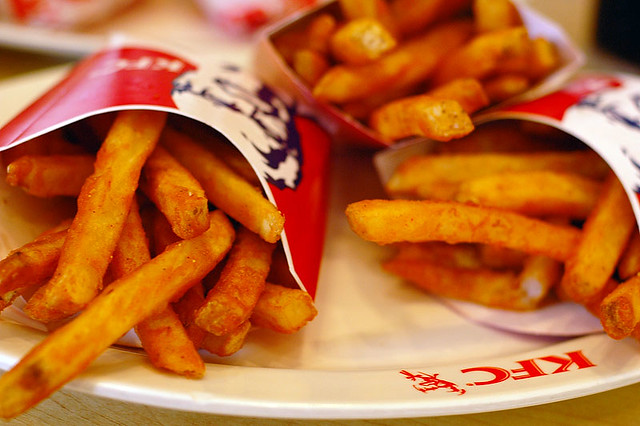 Image result for kfc spicy fries