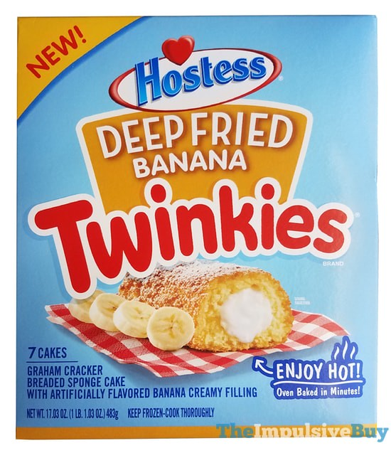 Hostess Deep Fried Banana Twinkies