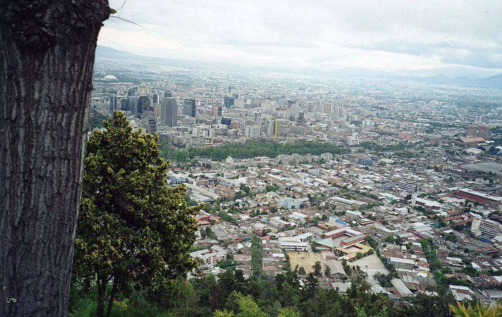 Panoramica de Santiago de Chile 02